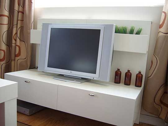 Divano Letto Friheten Ikea Usato ~ malm  bedside tables turned to TV stand  ikea hack  Pinterest