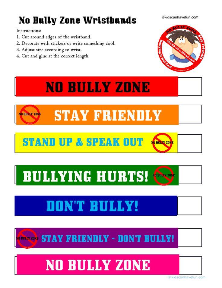 Anti Bullying Worksheets – Anti Bullying Worksheets