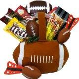 Football Fantasy Snacks and Treats Gift Basket