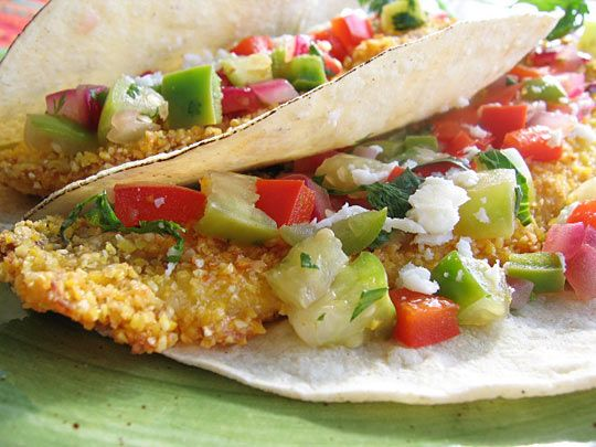 Baja-Style Fish Tacos...serve in my store