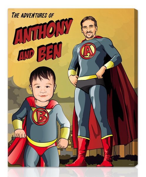 Superhero™ - Awesome company...they take your photo and make all kinds of popart canvas