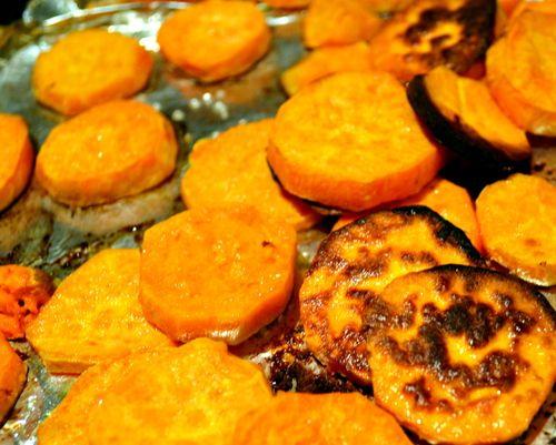 crispy roasted sweet potatoes. | Tasty Temptations | Pinterest