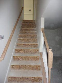 basement stair railing for the home pinterest