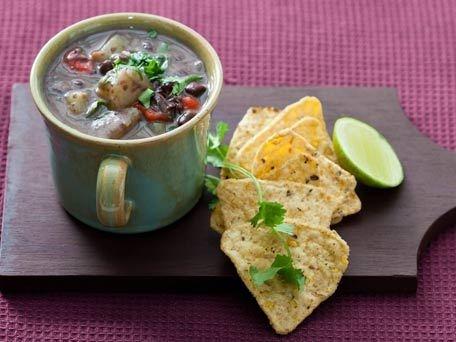 Chipotle Black Bean and Sweet Potato Soup | Recipe