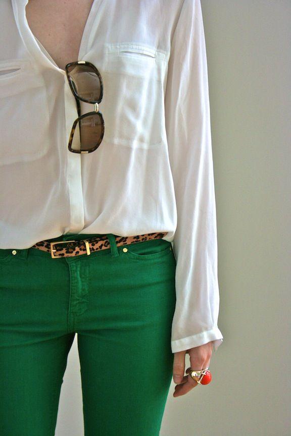 Emerald denim