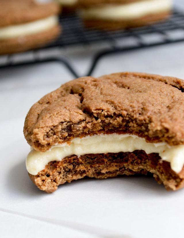 Chocolate And Vanilla Malt Cookies Kitchen Gidget | Dark Brown Hairs