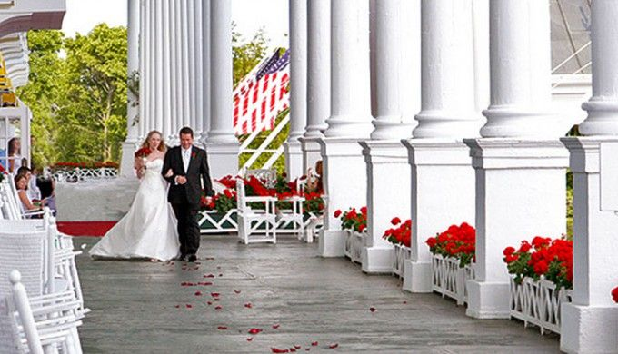 Grand hotel mackinac wedding