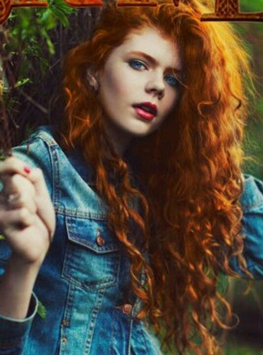 red curly hair these curls are on fire pinterest