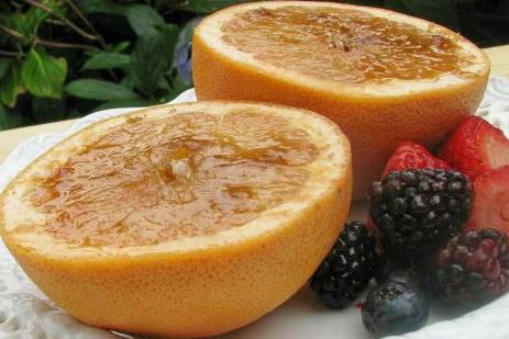 Grapefruit Brulee | YUMMY | Pinterest