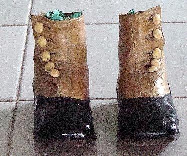 child's shoe 1800s