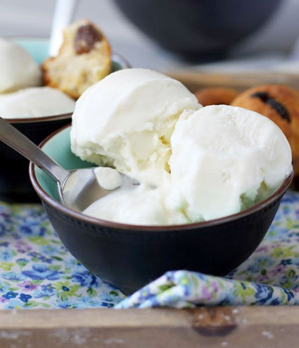 Coconut Ice Cream | eatwell101.com