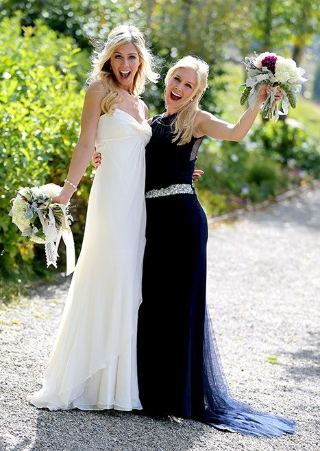 Holly Montag Marries See The Hills Star 39 S Wedding Dress Maid Of Honor H