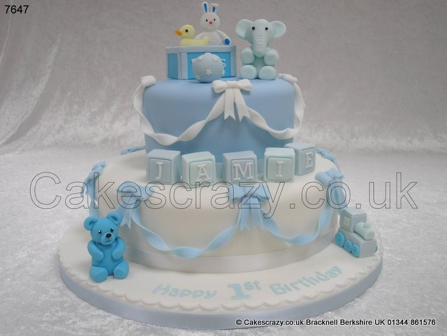 Birthday Cakes For Boys With Name ~ 1st birthday cakes for baby boy ~ image inspiration of cake and