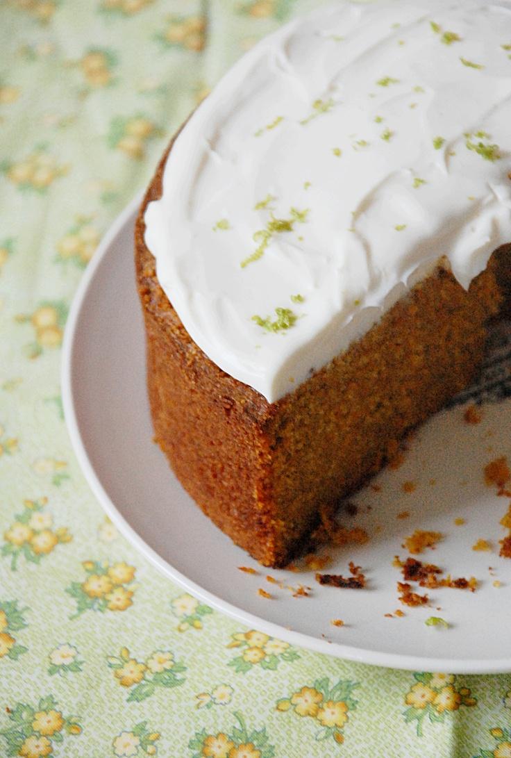 Carrot cake wih lime mascarpone | Cakes | Pinterest
