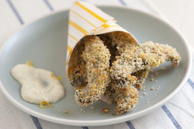 crispy baked portobello fries. | | CULINARIST | | Pinterest
