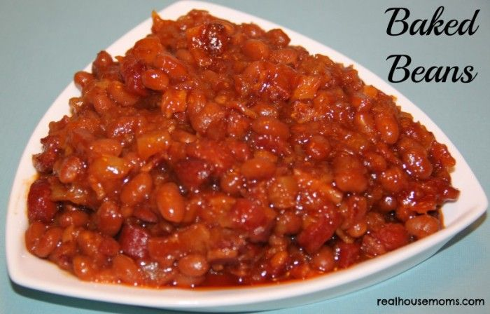 Baked Beans (Pineapples, mixed with hot dogs & bacon, rally add to the ...