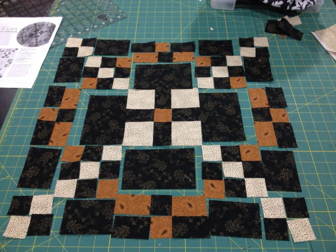#APQquiltalong block from @Lisa Bongean