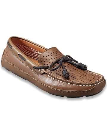 Tommy Bahama - Paxton Leather Slip-On Drivers