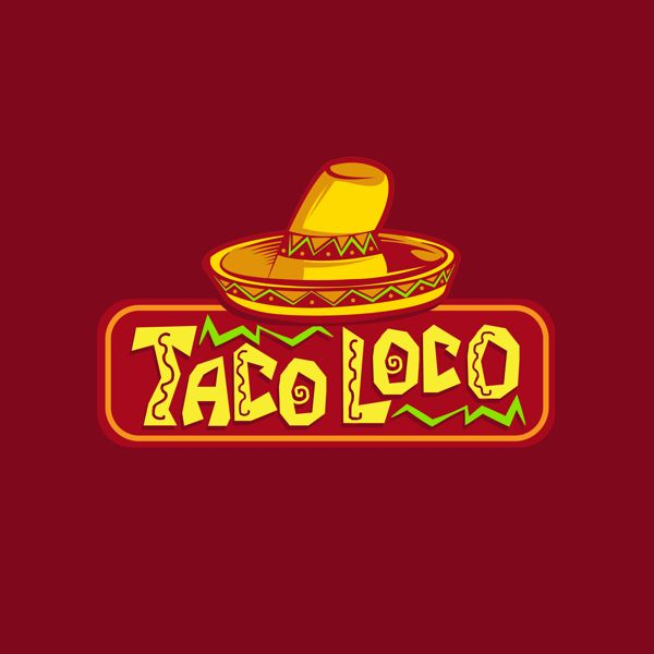 Kiosk Logo Design Taco Loco On Behance D Logos Pinterest