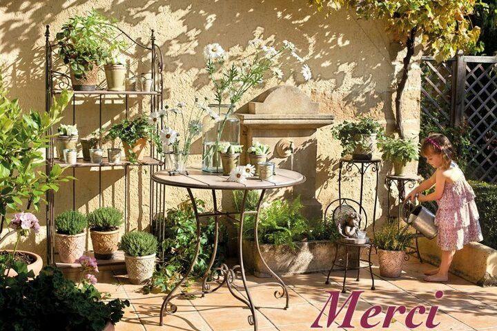 French Patio Garden Patio Garden Ideas Inspiration Pinterest