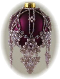 beaded ornaments - Google Search