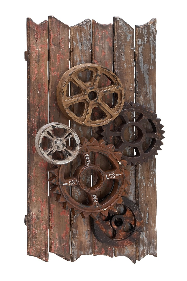 Wall Decor Gears : Steampunk art