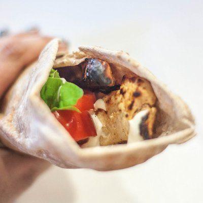 Chicken shawarma roll - photo#21