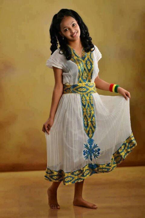 ethiopian traditional dress ethiopian tranditional dress pinterest