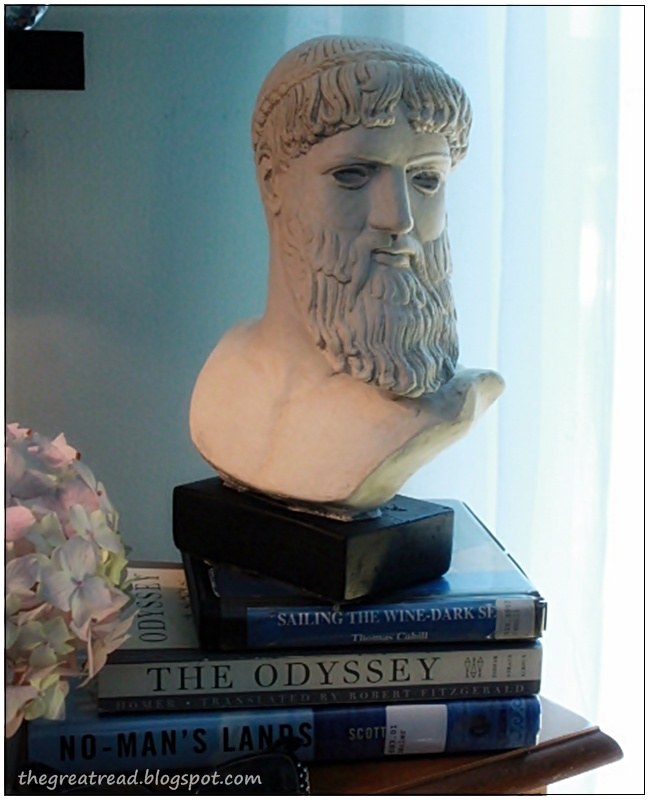 Reading The Odyssey with Edie's The Lost Art Of Reading Book Club. Come join us.