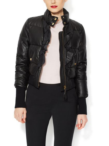 red valentino jacket leather