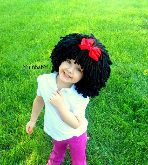 Kid Snow White Wig 90