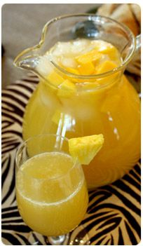 Baby Shower Champagne Punch | For dessert, we had Chai Cupcakes with ...