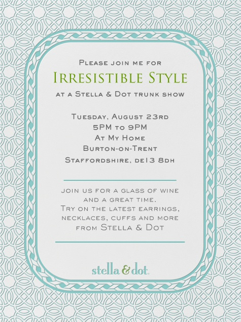 Pin by jill adler lohre on party 31 party pinterest for Stella and dot invitation templates