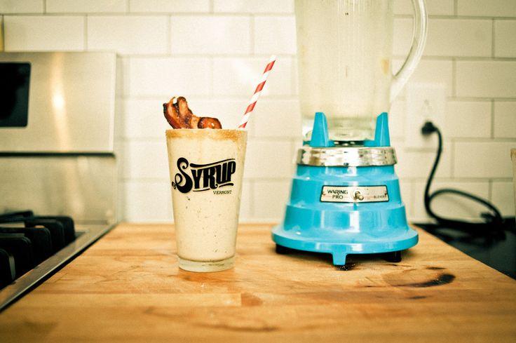 Maple Bacon Milkshake | Food for hubby | Pinterest