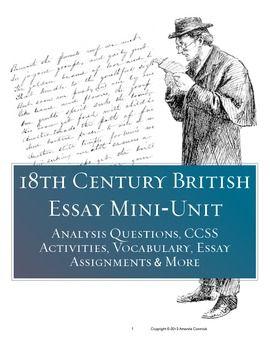 british literature essay topics