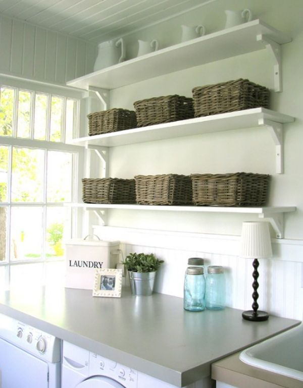 Small Laundry Room Organization Home Sweet Home Pinterest
