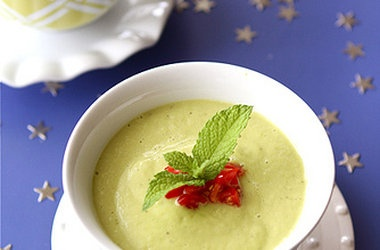 Chilled California Avocado Soup with Coconut Milk — Punchfork