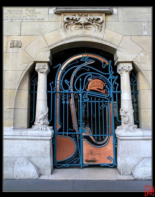 Castel Béranger, Paris by Hector Guimard Guimard Pinterest