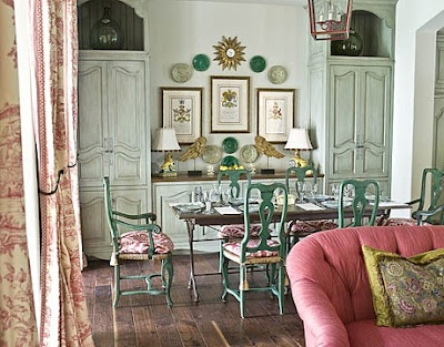 French Provincial Dining Rooms Pinterest