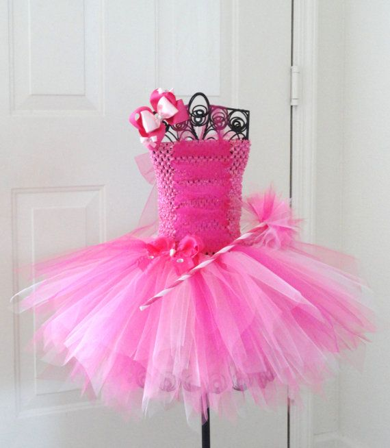 Pretty in pink princess tutu dress set by jenniferramirez4 on etsy
