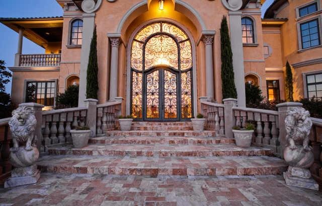 Wealth and luxury grand mansions castles dream homes amp luxury - Grand Entrance Home Pinterest