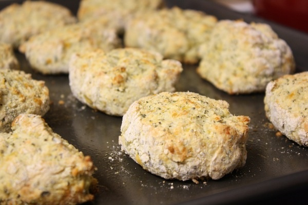 Cheddar Cornmeal Biscuits. | Recipes | Pinterest