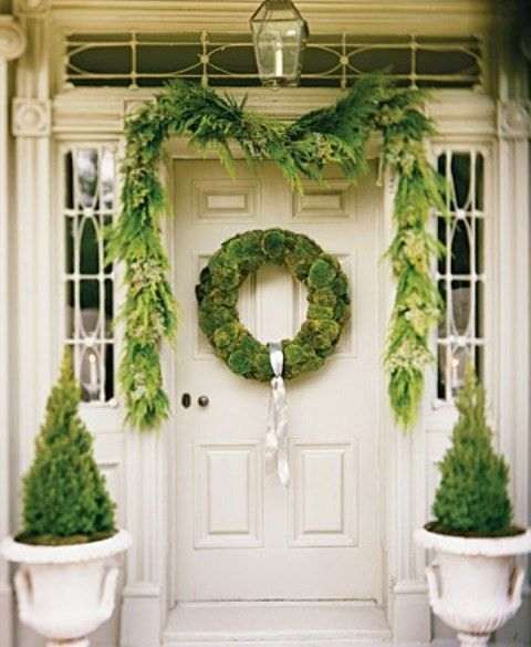 beautiful front door i just may do that this year on our house