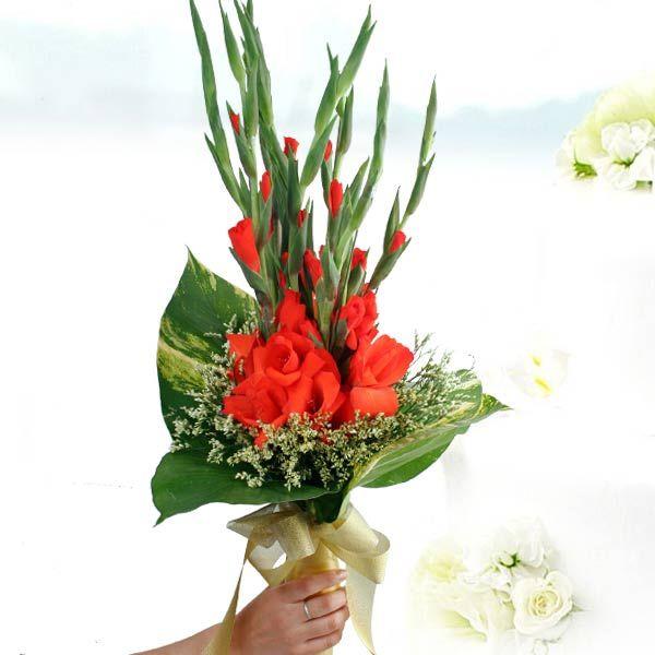 Wedding Bouquets With Gladiolus Singapore Wedding Flowers Decoration
