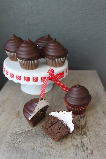 Hi-Hat Cupcakes