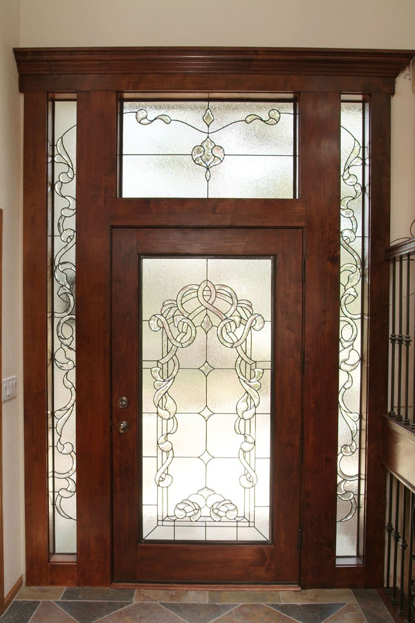 Beveled leaded glass door old and beautiful doors for Beveled glass doors