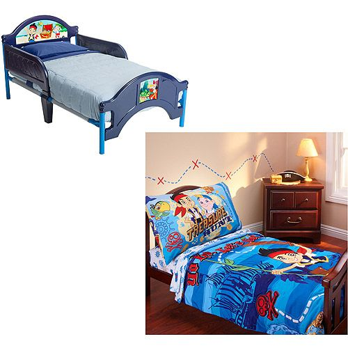 Image Result For Disney Jake And The Neverland Pirates Toddler Bed W Bedding Bundle