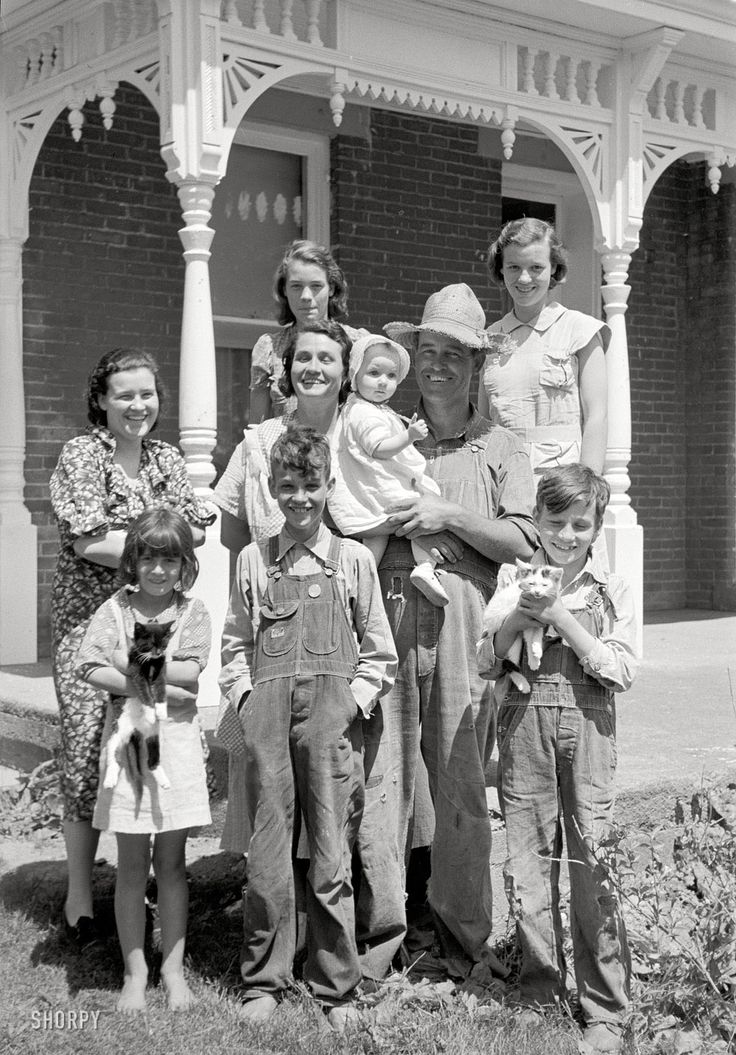 farm family ohio 1938 love history pinterest