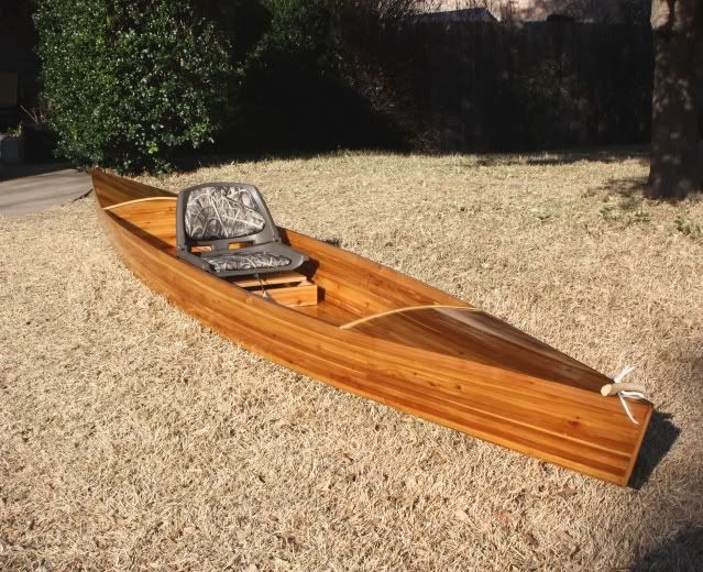 Man a know: Popular Marine plywood canoe
