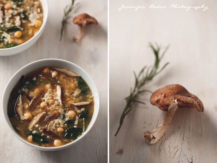 Hearty Spinach and Chickpea Soup | NH Food and Lifestyle Photographer ...